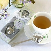 Personalized Teatime Heart Tea Infuser in Teatime Gift Box