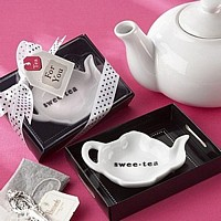 Swee-Tea Ceramic Tea Bag Caddy Favors