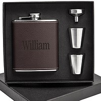 Personalized hip flask gifts for groomsmen