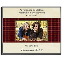 Poem 1 Design Personalized Picture Frame for Dad