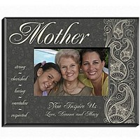 Personalized paisley designed frame for Mom