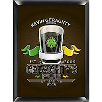 Custom Printed Irish Pub Sign