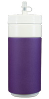Purple foam can koozie color
