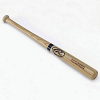 Rawlings Miniature Engraved Baseball Bat