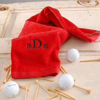 Monogrammed Golf Towel