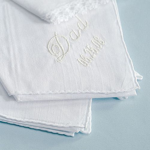 17 x 17 Personalized Cotton Handkerchief