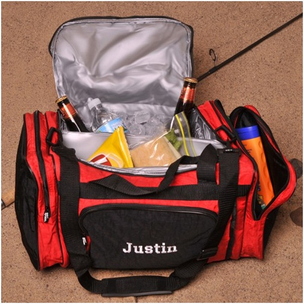 Personalized 2 in 1 Insulated Cooler Duffle Bag f9b7f9b716776