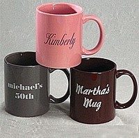 Personalized Ceramic Coffee Cups