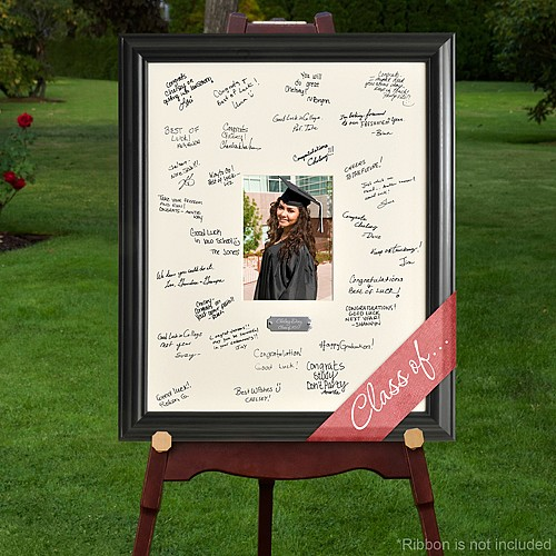 19 X 23 Inch Personalized Graduation Photo Signature Frame