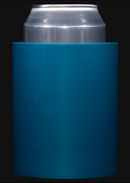 Dark Teal foam can koozie color