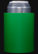 Green foam can koozie color