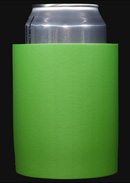 Neon Green foam can koozie color