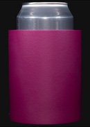 Plum foam can koozie color