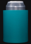 Turquoise foam can koozie color