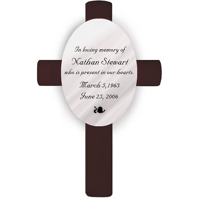 Personalized Classic Memorial Wall Cross