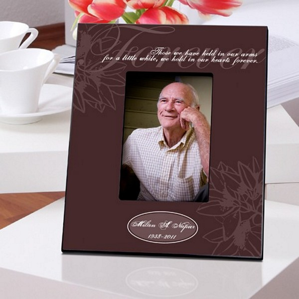 Reception Ceremony Burial: Personalized Forever Memorial Picture Frame