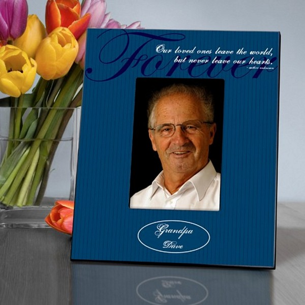 Reception Ceremony Burial: Personalized Never Gone Memorial Picture Frame