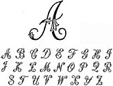 Comliment with any script font