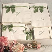 Personalized Napkin Gift Sets