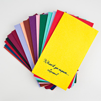 Personalized disposable linen like guest towels available in 19 color options