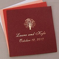 Personalized linen like napkins