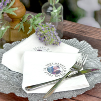 Personalized Paper Photo Napkins