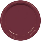 Berry plastic dessert and dinner plate color