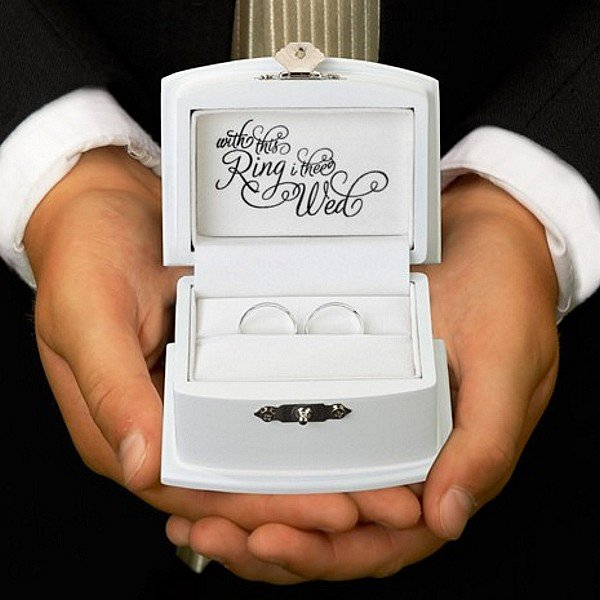 With This Ring Wedding Bearer Box