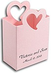 Rose Quartz Stardream Nouveau Heart Mini Tote