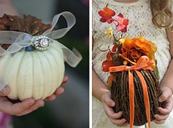Flower girl and ring bearer alternatives
