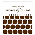 Chocolate-dots label color