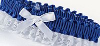 Royal Blue Garter