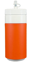 Orange foam can koozie color