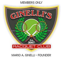 Racquet club stein design