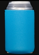 Neon blue koozie color