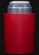 Red foam can koozie color
