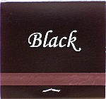 Black matchbook color