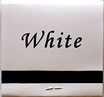 White matchbook color